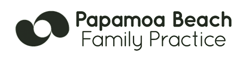 logo papamoa beach family practice
