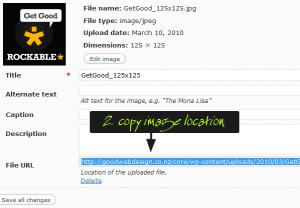copy image location