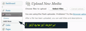 upload new media
