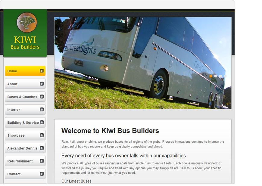screenshot kiwi bus builders website
