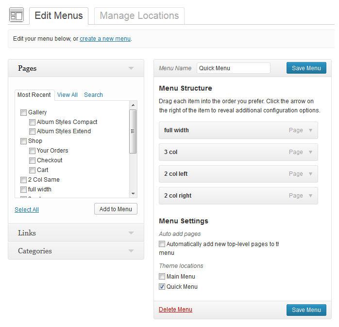 WordPress Custom Navigation Menus Simplified
