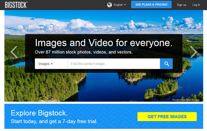 stock photo website bigstock