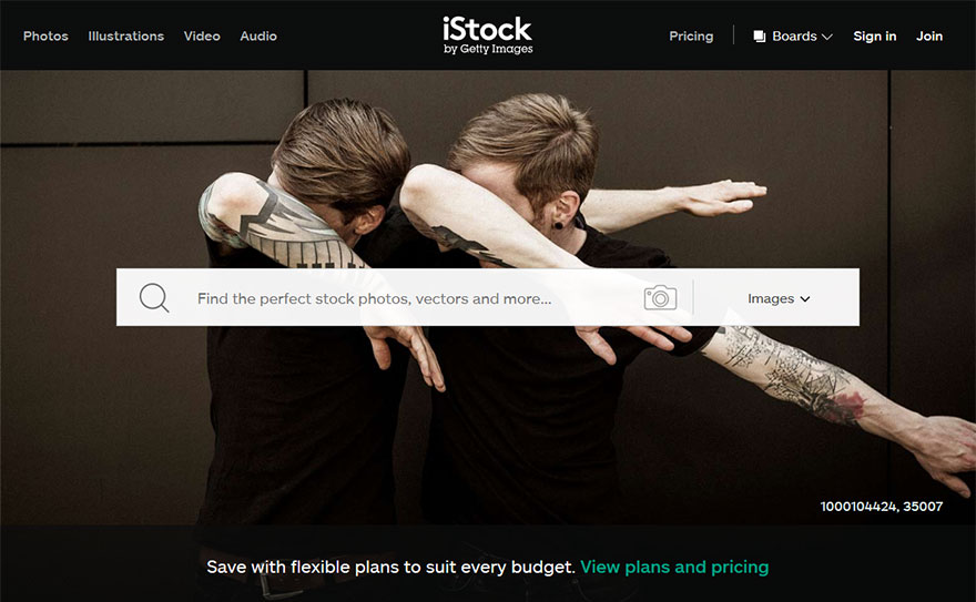 stock photo website istock