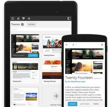 WordPress 3.8 themes