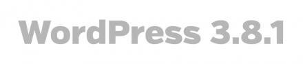 wordpress 3.8.1