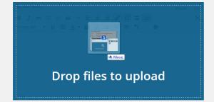 drag and drop image upload WordPress 3.9