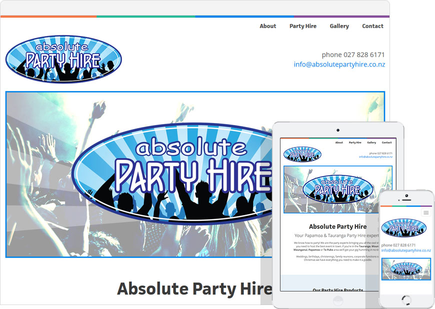 up and running mobile friendly one page website