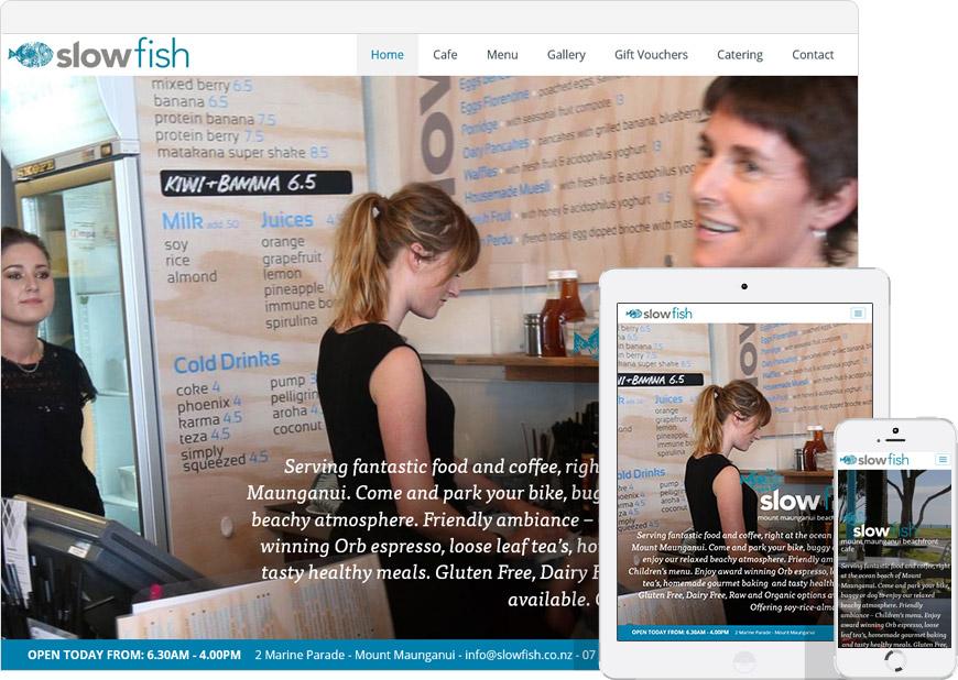 upadn running the slowfish website