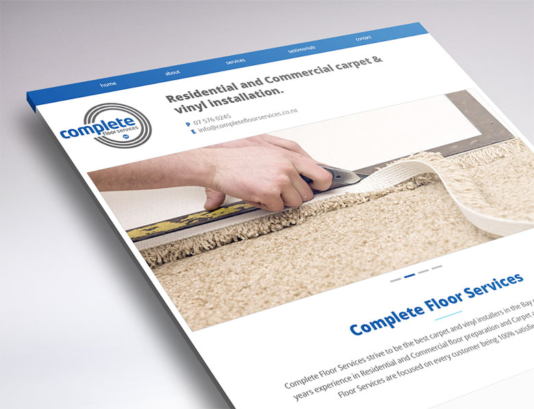 website preview complete floor services