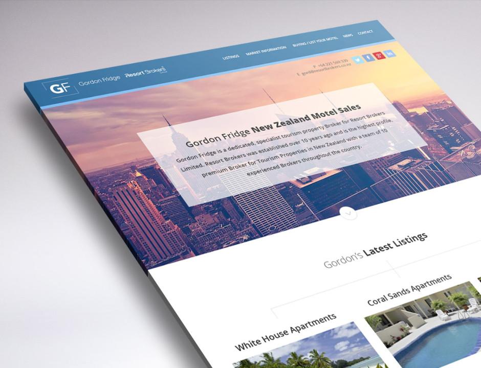 Website re-design for NZ Motel Sales