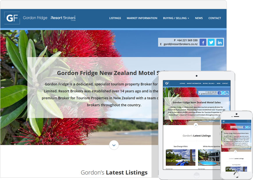 WordPress website for nzmotelsales.co.nz
