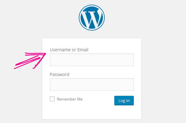 login with email - WordPress 4.5