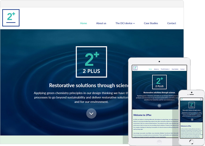 WordPress website for 2Plus