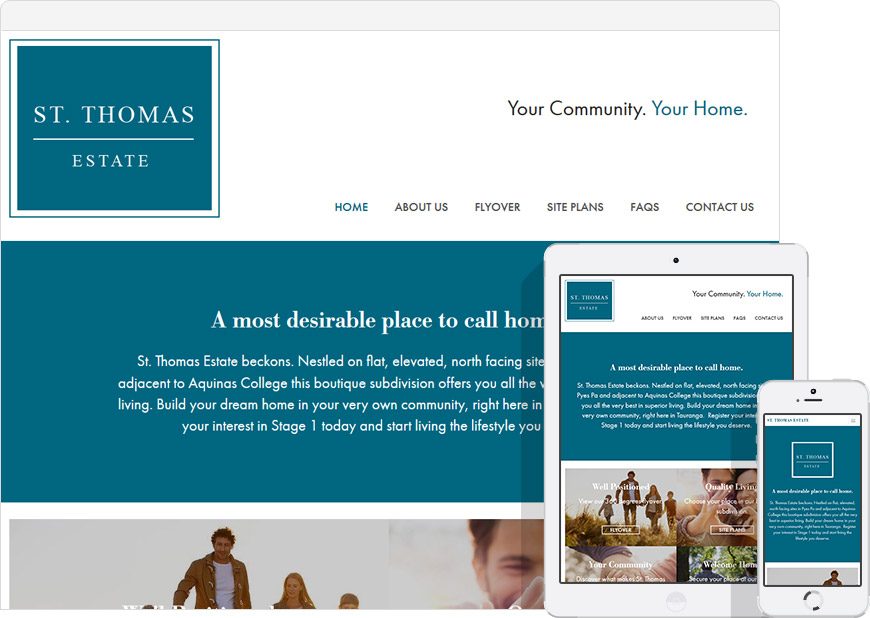Real Estate website st thomas estate