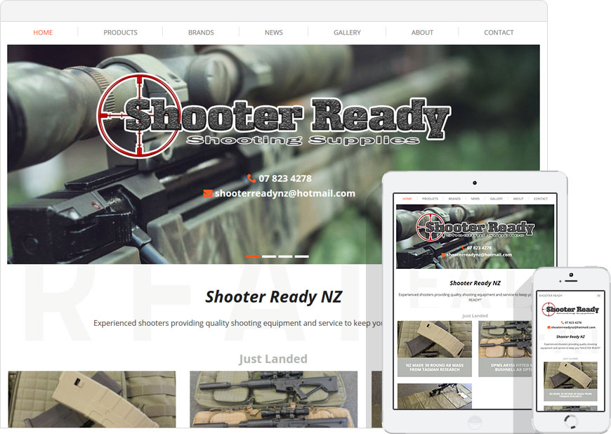 screen shot website shooter ready