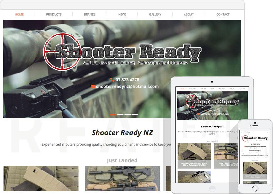 screen shot website shooter ready