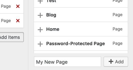 wordpress 4.7 navigation menus