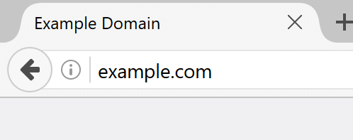 Not Secure Label Browsers