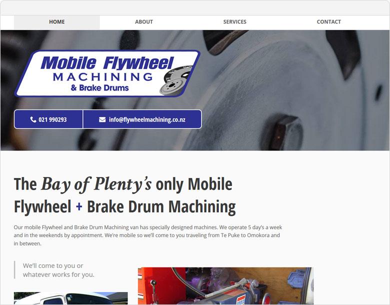 website Mobile Flywheel and Brake Drum Machining