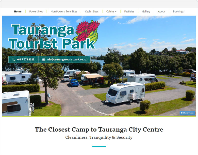 Up and Running Tauranga Tourist Park