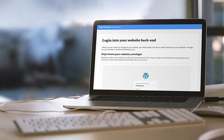 Client WordPress manual