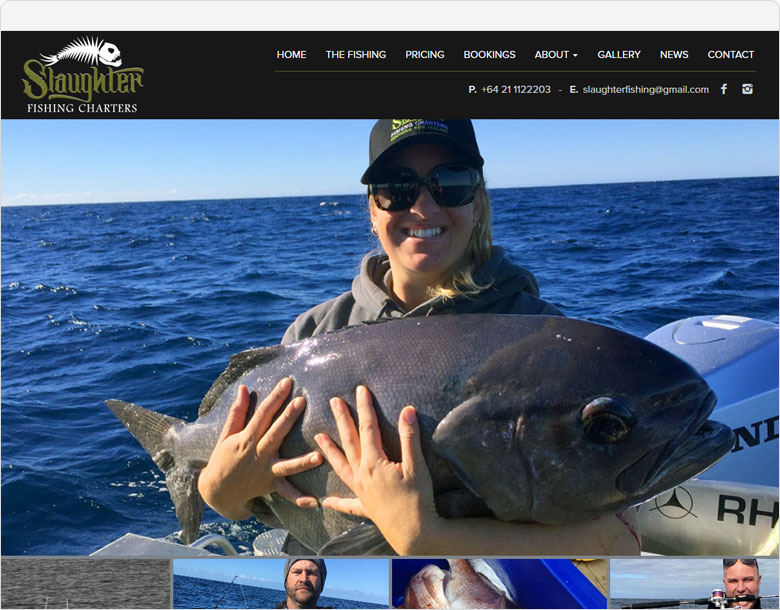 screen shot slaughter fishing charters