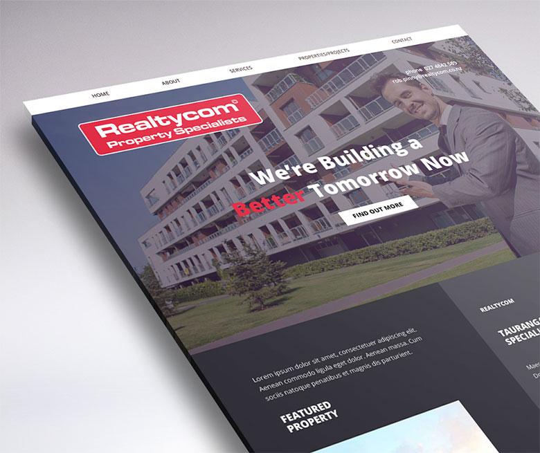 website design realtycom