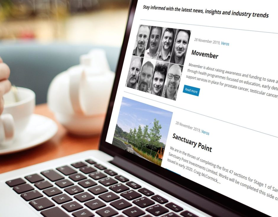 Adding blog section to the Veros website