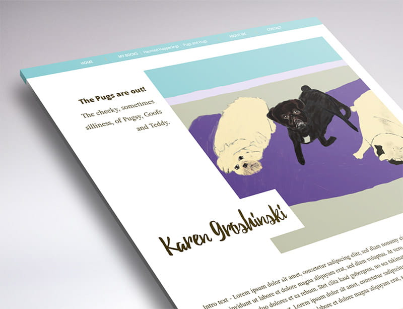 website design karen groshinski