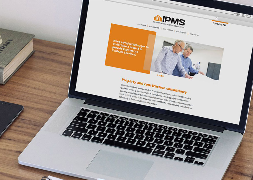 WordPress website IPMS