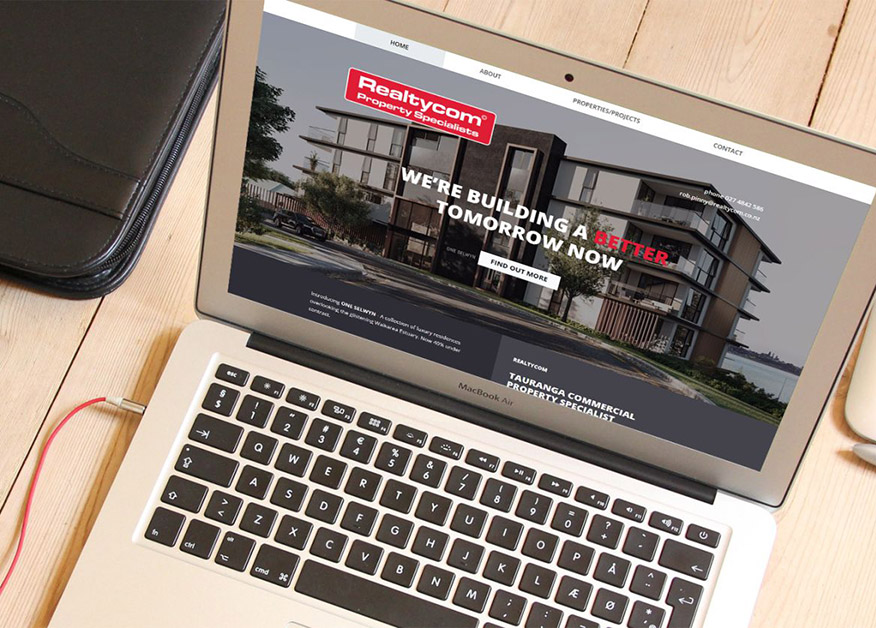 One page website Realtycom