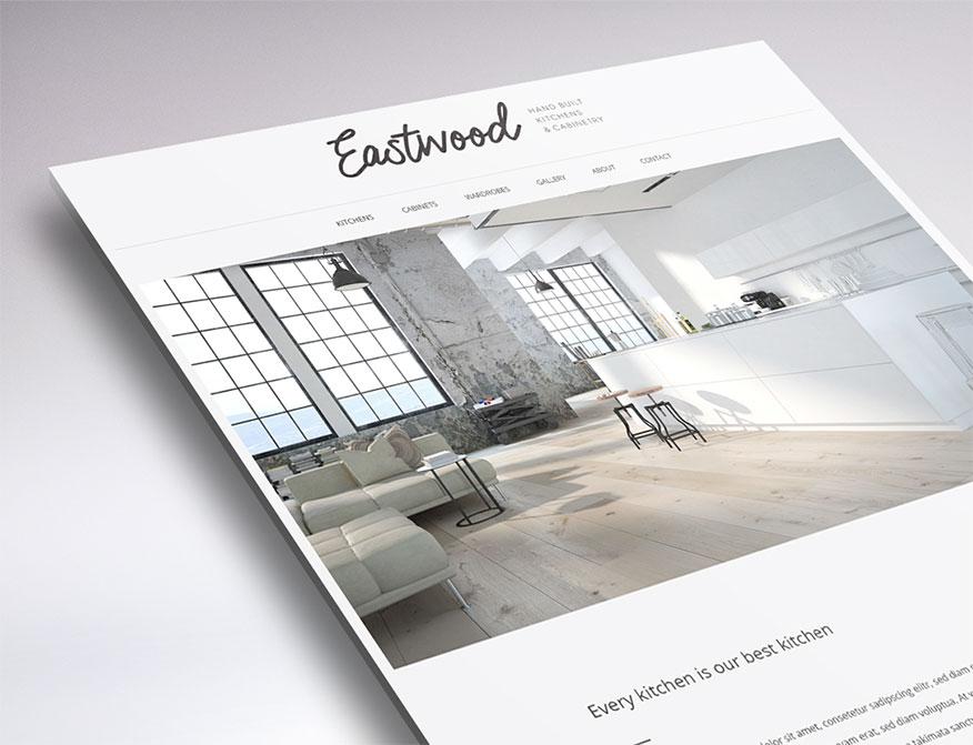 minimal web design sneak peek