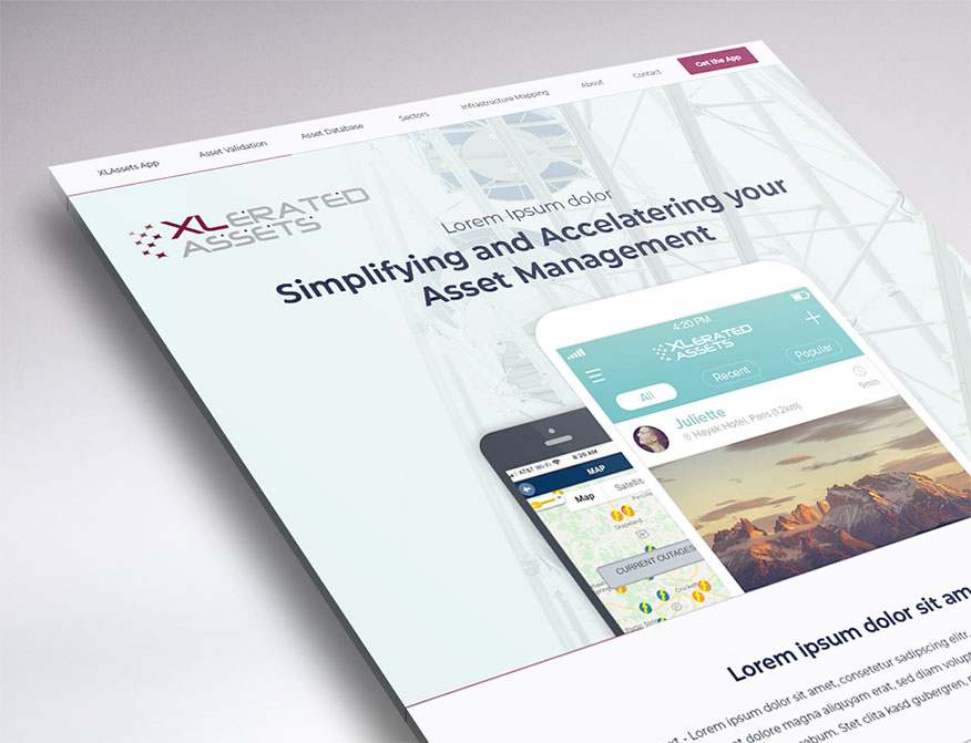 web design sneak peek XL Assets